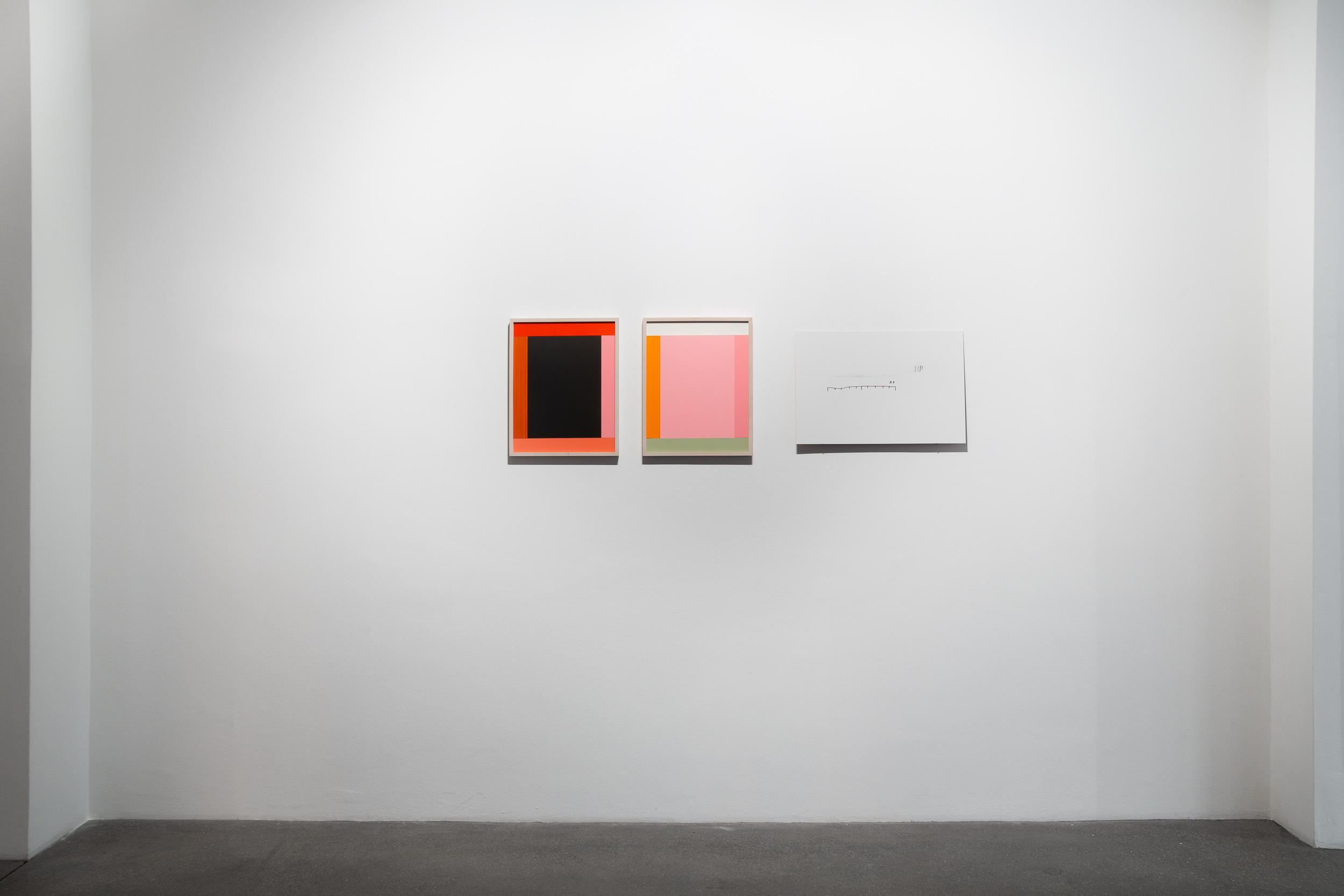 Imi Knoebel, Per Mertens, Ten Gates, Ausstellungsansicht, Engelage & Lieder